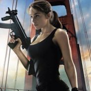 """Emilia Clarke, de """"Game of Thrones"""", aparece incrível em novo pôster de """"O Exterminador do Futuro"""""""