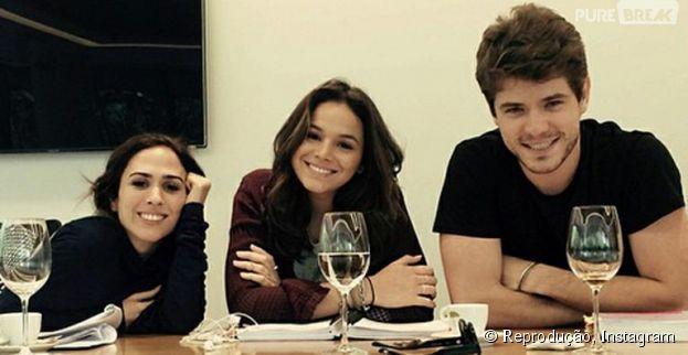 """Maurício Destri elogia parceria com Bruna Marquezine e Tatá Werneck, em """"I Love Paraisópolis"""": """"Foi lindo!"""""""