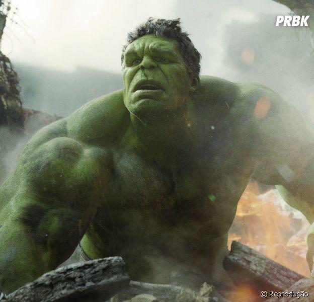 """Em """"Os Vingadores 2"""", Hulk tem um papel mais significativo do que no primeiro filme"""