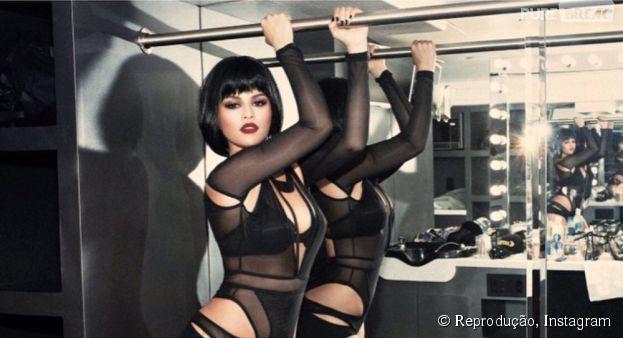 """Selena Gomez aparece sexy nos bastidores do clipe """"Bad Blood"""" de Taylor Swift"""