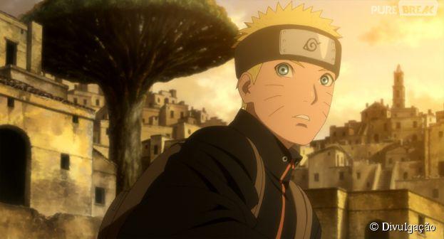 """No longa """"The Last - Naruto o Filme"""", personagens tentam impedir que a Lua entre em colisão com a Terra"""