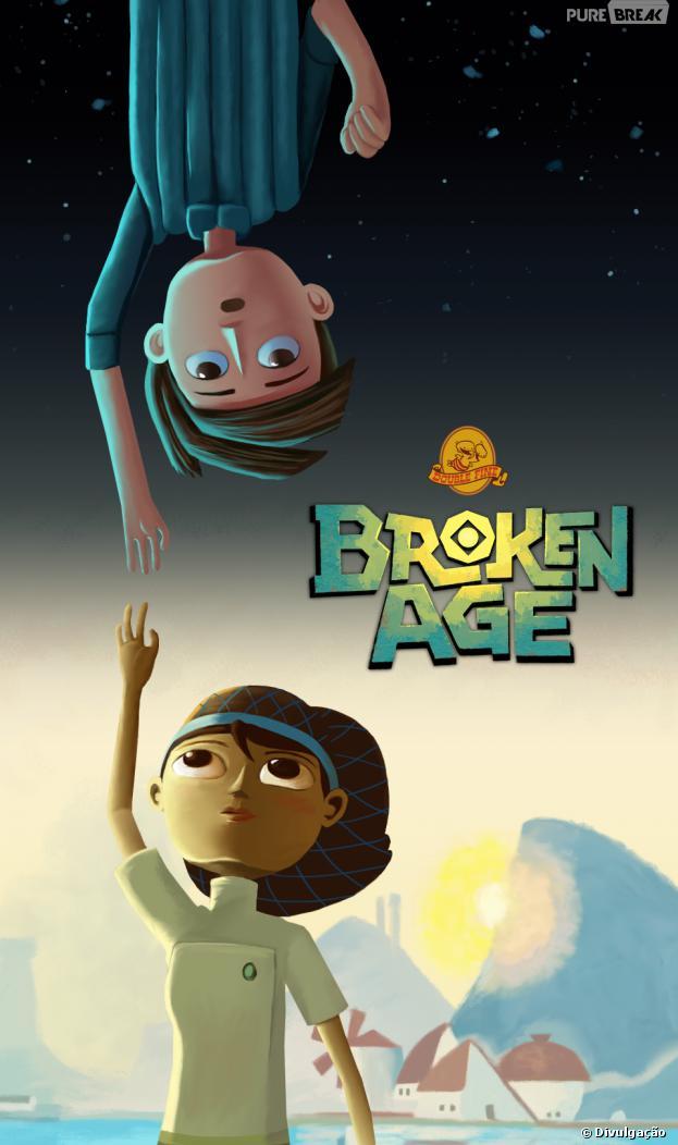"""A história de """"Broken Age"""" vai permitir aos jogadores ir e vir entre os dois personagens principais"""