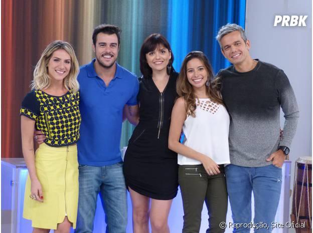 """Equipe de apresentadores do """"Vídeo Show"""""""