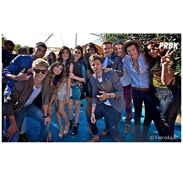 Meninas do Fifth Harmony anunciam possível parceria com One Direction!