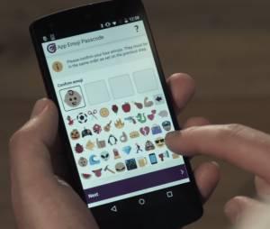 Emojis viram senha em novo sistema de segurança
