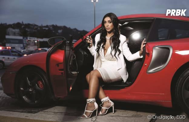 "Do ""BBB15"": Amanda Djehdian vira Kim Kardashian em ensaio"