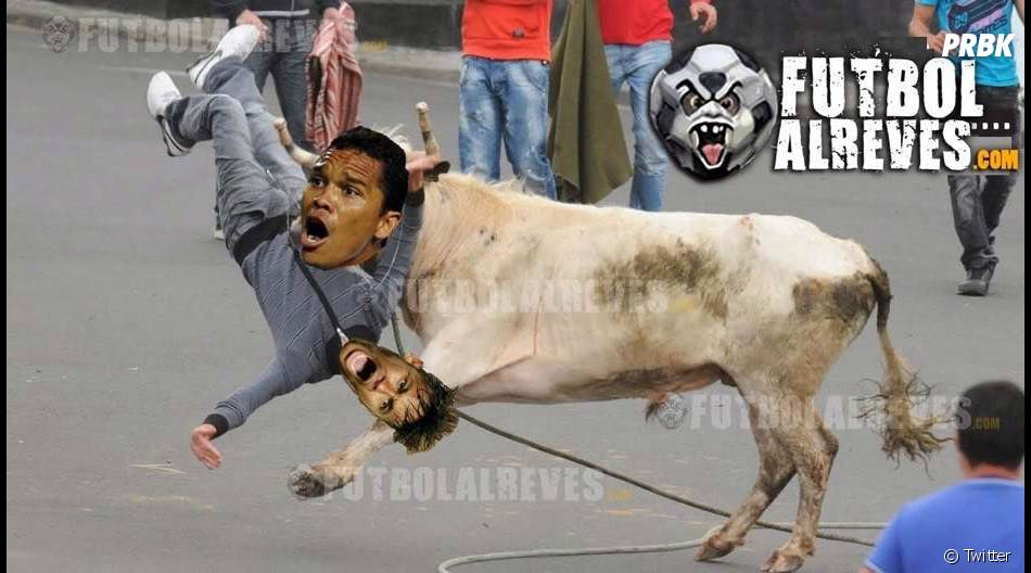 Os torcedores colombianos fizeram vários memes do Neymar Jr. nas redes sociais