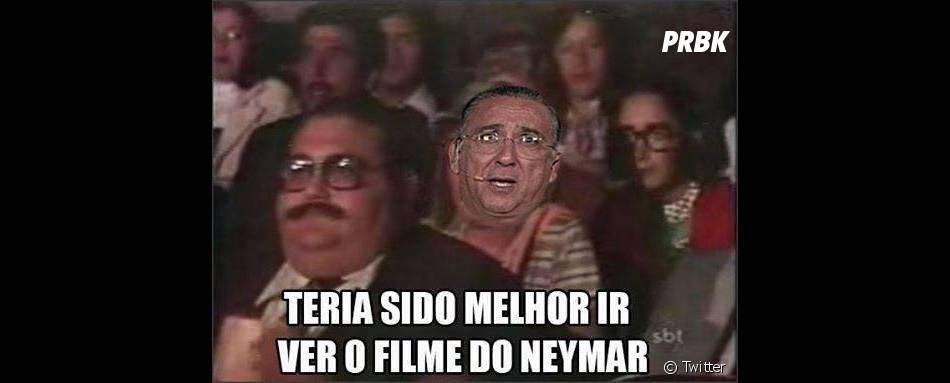 Neymar Jr. ganhou vários memes na internet