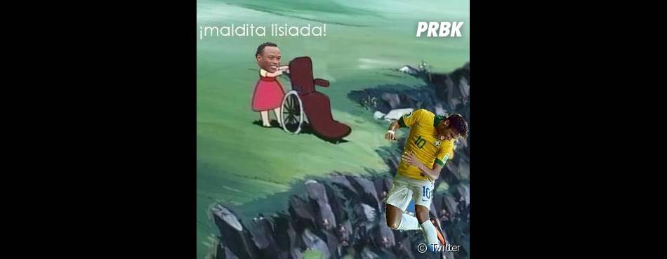 Essa não é a primeira vez que Neymar Jr. é motivo de piada nas redes sociais