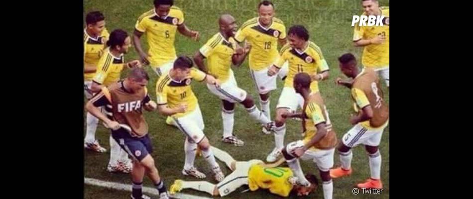 Neymar Jr. foi defendido pela seleção brasileira após confusão no final do jogo