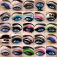 Maquiagens para os olhos super criativias! Você faria uma dessas?