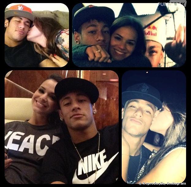 Conta do Instagram postou várias fotos e aúdios de duas moças que supostamente estariam saindo com Neymar, namorado de Bruna Marquezine