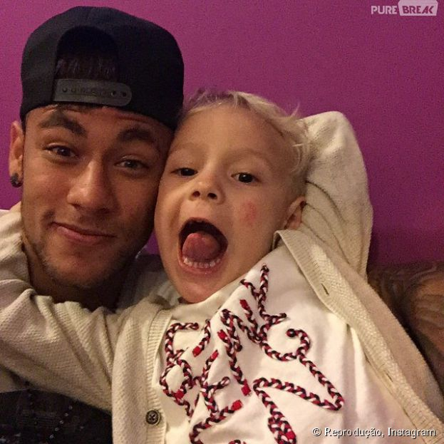 Após Copa América, Neymar Jr. curte descanso e posta foto com o filho, Davi Lucca