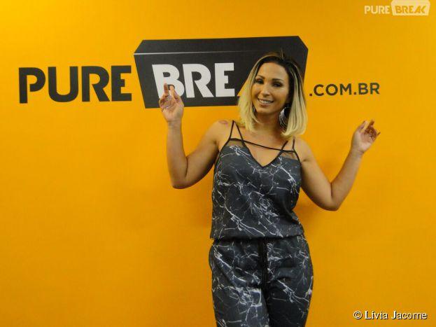 """Valesca Popozuda arrasou no nosso Meet & Break e aproveitou para comemorar o sucesso do hit """"Sou Dessas"""""""