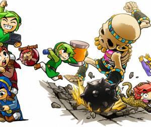 """Game """"The Legend of Zelda: Tri Force Heroes"""" ganha 15 minutos de gameplay, venha conferir!"""