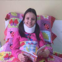 "Larissa Manoela, de ""Carrossel"", fala sobre acidente: ""Fiquei traumatizada"""