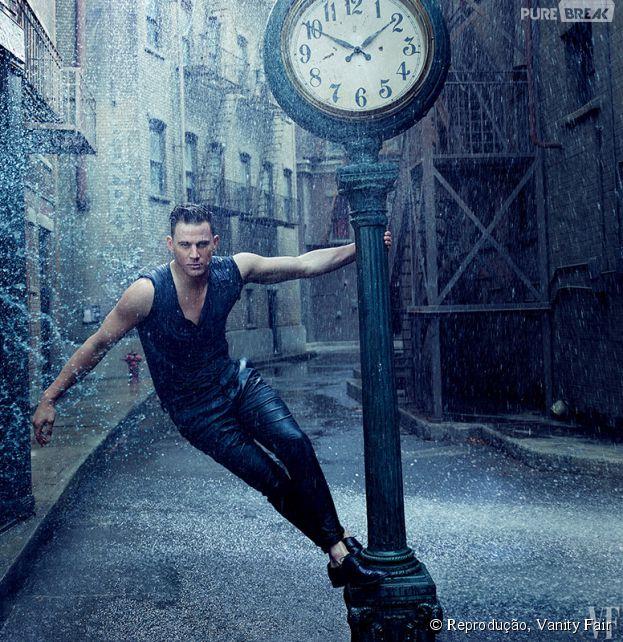"""Channing Tatum, de """"Magic Mike XXL"""", revela que não descarta a possibilidade de ser stripper"""