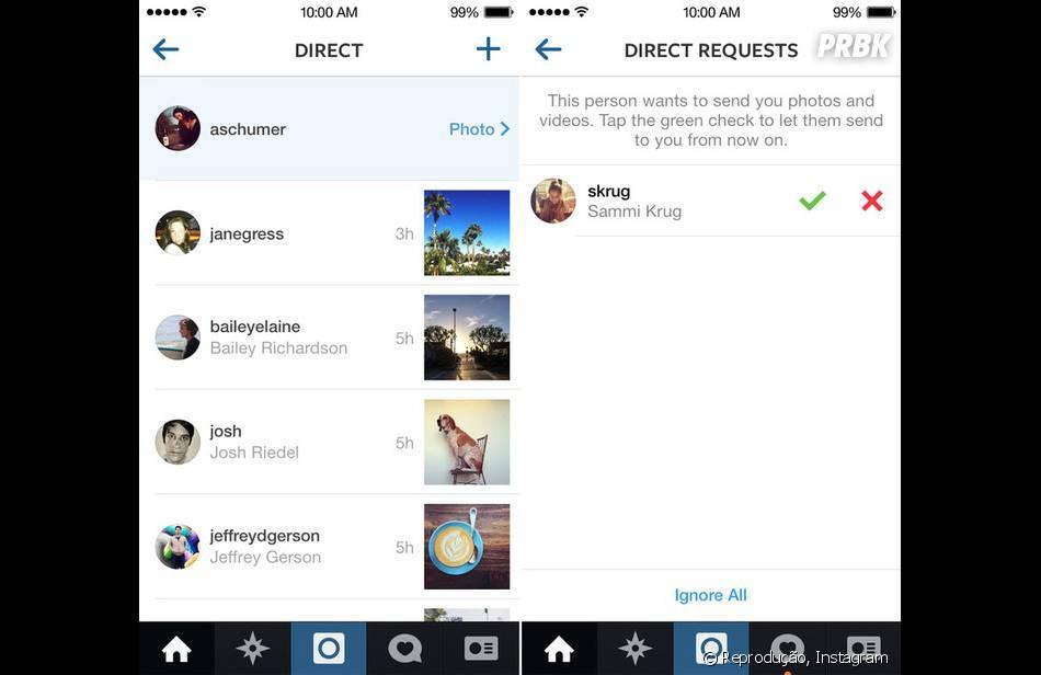 instagram direct how to line break