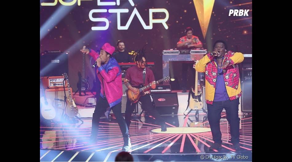 """A dupla Dois Africanos chegou na final do """"SuperStar""""!"""