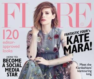 """Kate Mara, de """"Quarteto Fantástico"""", é a capa da próxima edição da Flare"""