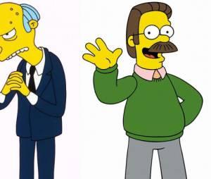 """Notícia boa em """"Os Simpsons"""": Ned Flanders e Sr. Burns vão voltar para as próximas temporadas!"""