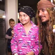 Johnny Depp se veste de Jack Sparrow e faz visita para crianças doentes em hospital da Austrália!