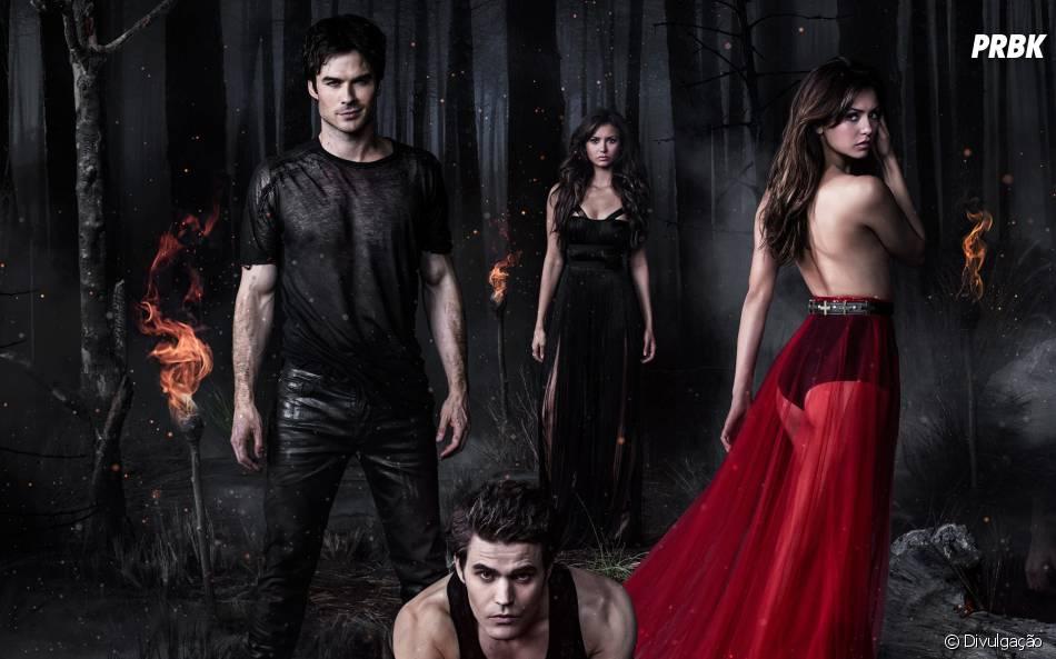 """""""The Vampire Diaries"""" mostrou uma temporada cheia de acontecimentos bombásticos simultâneos"""