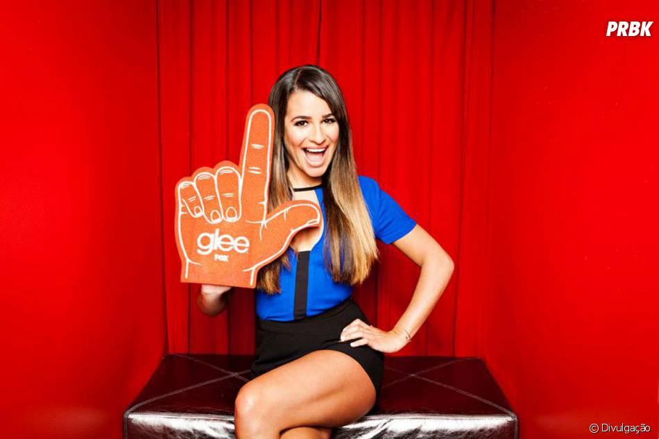 """Lea Michele, a Rachel, é a grande estrela de """"Glee"""" em Nova York!"""