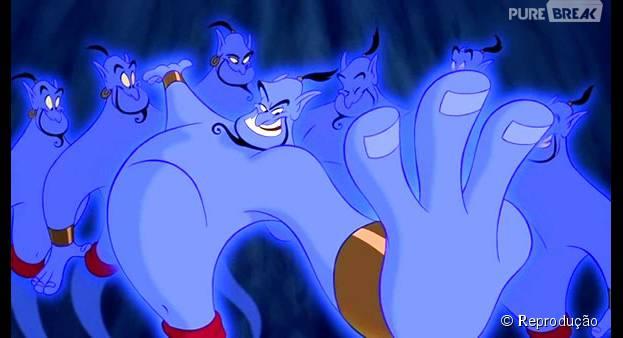 """O Gênio, de """"Aladdin"""", vai ser o próximo protagonista da Disney!"""