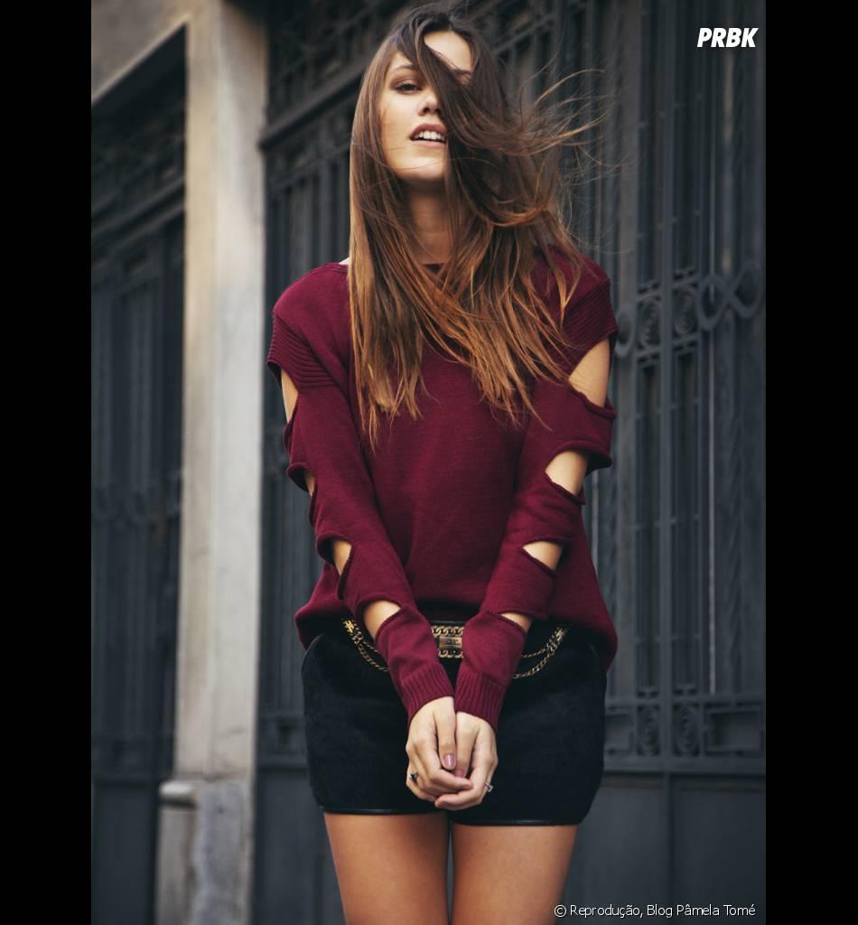 Pâmela Tomé tem um blog onde mostra seus looks super estilosos!