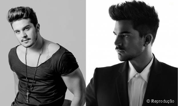 Luan Santana e Adam Lambert: fisicamente os dois são muito parecidos! Veja outros famosos confundidos com celebridades gringas