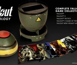 """A mini-bomba Fat Man que vem na edição """"Fallout Antology"""" e guarda todos os jogos da franquia"""