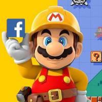 "Facebook e Nintendo criam nova fase especial no editor do game ""Super Mario Maker"""