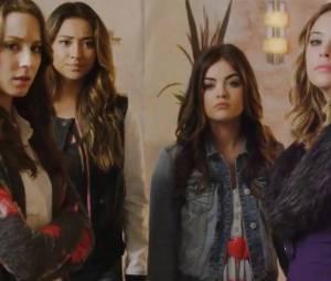 """No primeiro sneak peek de """"Pretty Little Liars"""", as meninas recebem um recado de 'A'!"""