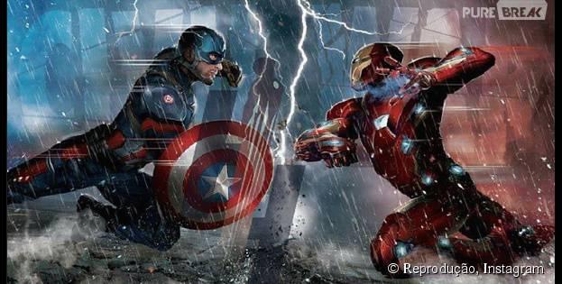 """Em """"Capitão América 3"""", o Capitão América e o Homem de Ferro vão se enfrentar"""
