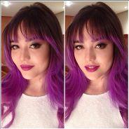 "Bella Piero, de ""Verdades Secretas"", revela os segredos de seu cabelo colorido: ""Procuro hidratar"""