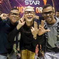 """Lucas e Orelha e MC Gui juntos? Campeões do """"SuperStar"""" anunciam single e clipe com o funkeiro!"""