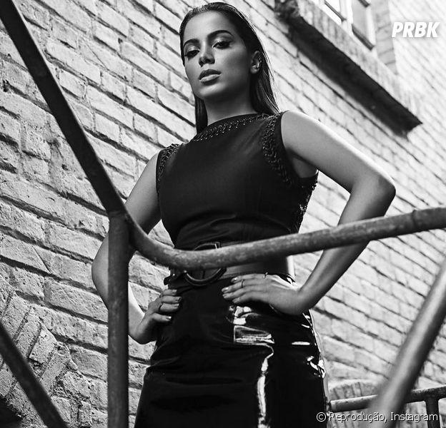 Anitta fala sobre o processo de produção do novo CD