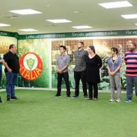 """No """"MasterChef Brasil"""": No estádio Allianz Parque, competidores cozinham para atletas do Palmeiras!"""