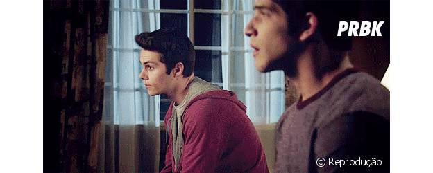 """Scott (Tyler Posey) e Stiles (Dylan O'Brien) são praticamente iguais em """"Teen Wolf""""!"""