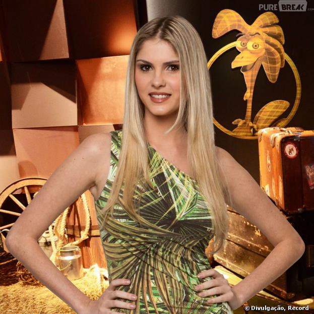 """Bárbara Evans é a grande vencedora do reality show """"A Fazenda 6"""" e leva o prêmio de 2 milhões de reais, neste domingo, 29 de setembro de 2013"""