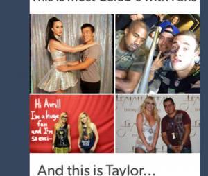 Taylor Swift favorita montagem polêmica no Twitter e Avril Lavigne responde à altura