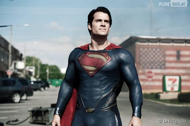 """Henry Cavill não vai interpretar o Superman em """"Esquadrão Suicida"""""""