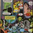 """O presidente Kennedy foi assassinado, mas segundo uma das edições de """"Os Jovens Titãs"""", esse era apenas um impostor alienígena. O verdadeiro estava no espaço, matando outros aliens!"""