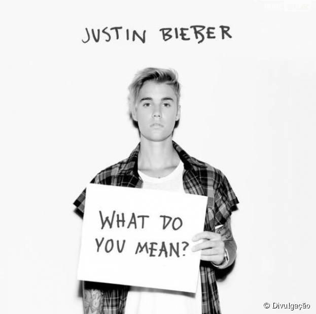"Justin Bieber finalmente lança ""What Do You Mean"""