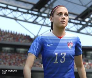 """Jogadora da seleção feminina dos Estados Unidos retratada em """"FIFA 16"""""""