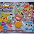 Existem vários tipos de Pokémon e varios doces também
