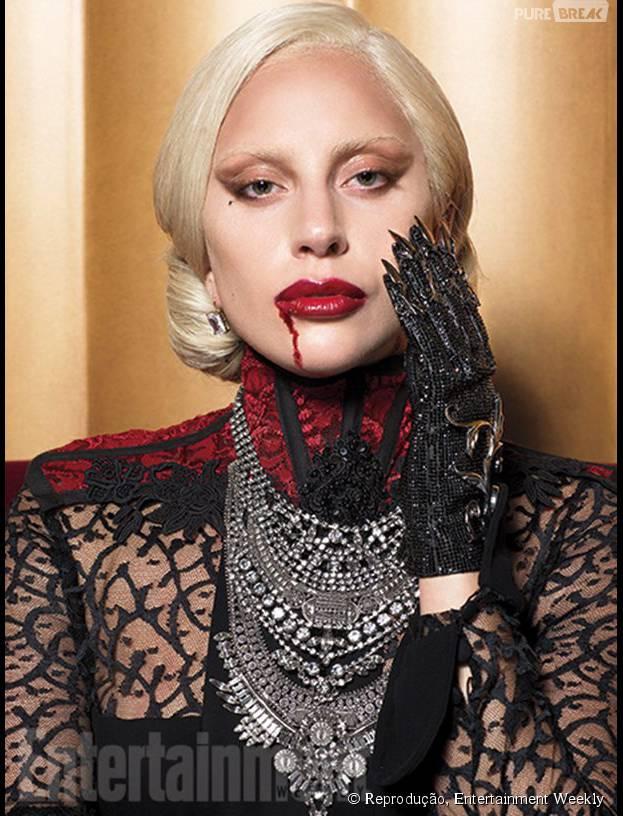 """Lady Gaga aparece incrível em novas fotos de """"American Horror Story"""""""