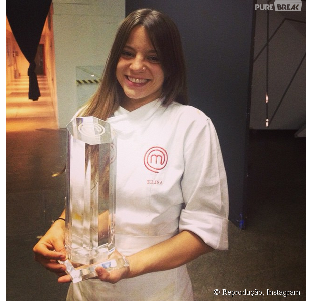 """Elisa Fernandes, do """"MasterChef Brasil"""", foi a grande vencedora da primeira temporada do reality!"""