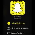 "Elisa Fernandes, do ""MasterChef Brasil"", também está no Snapchat!"